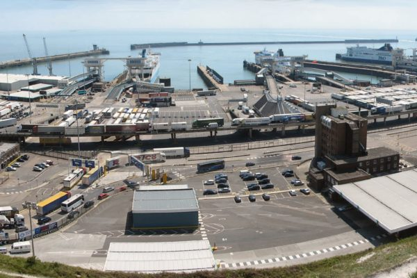 Dover Harbour Panorama, 2007: Wikimedia Commons