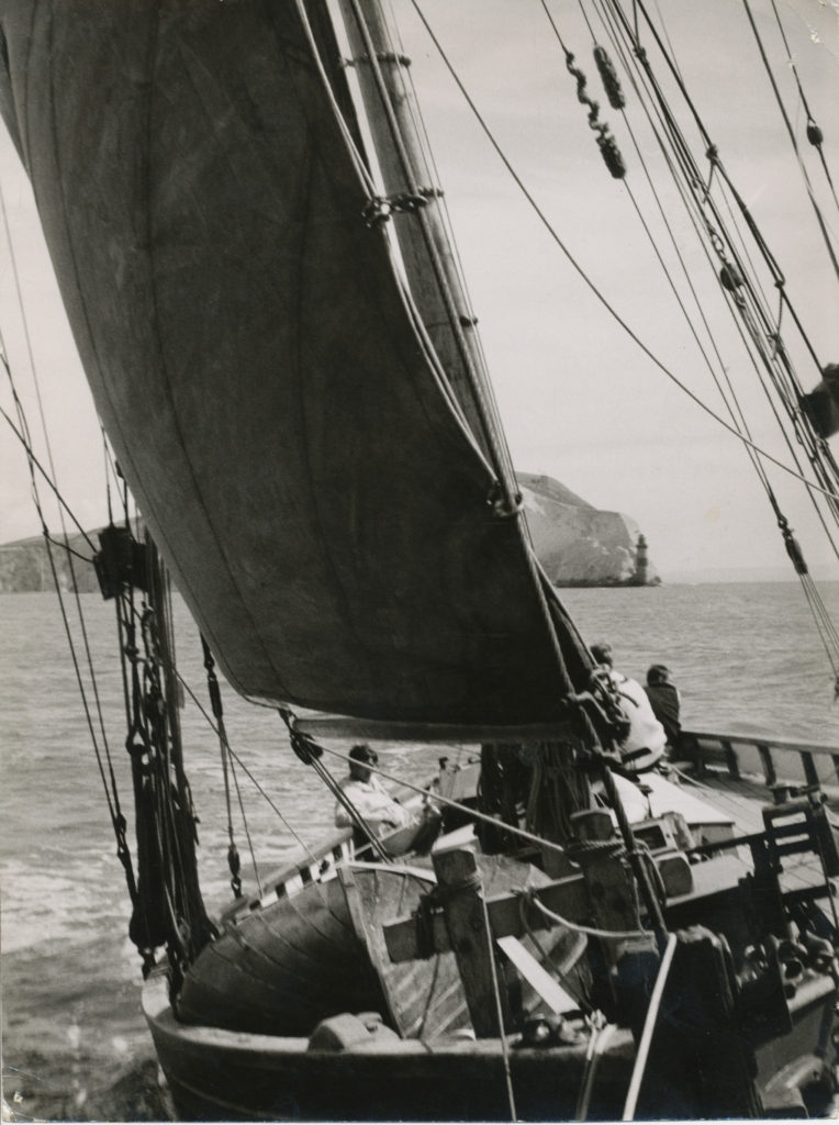 Martin Goodrich sails on 'Madcap', 1967