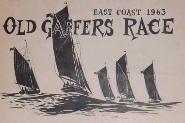East Coast Race flier, 1963