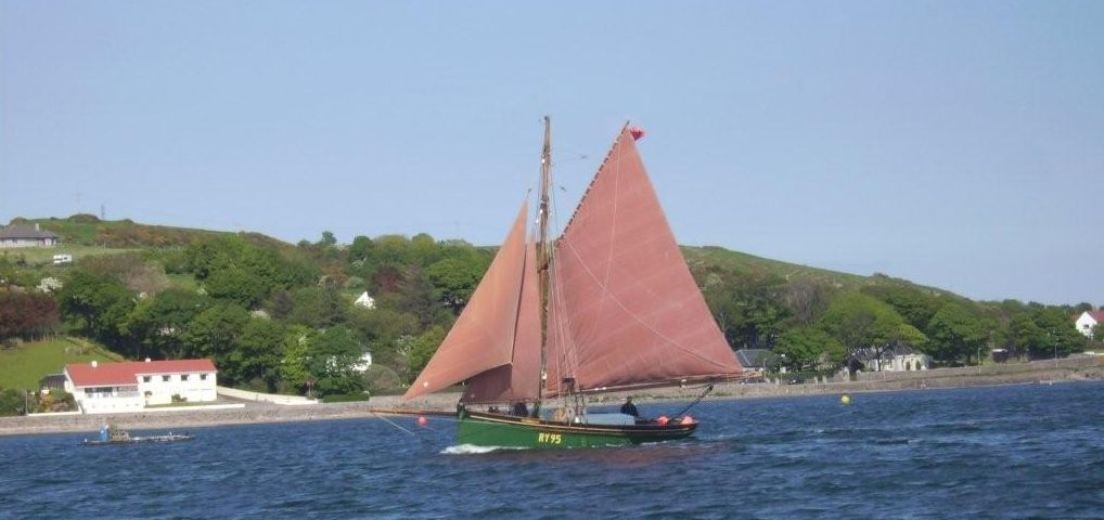 'Master Frank' arriving Campbeltown, 2008 Photo: OGA Archives