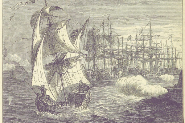 The attack off Brest, 1694