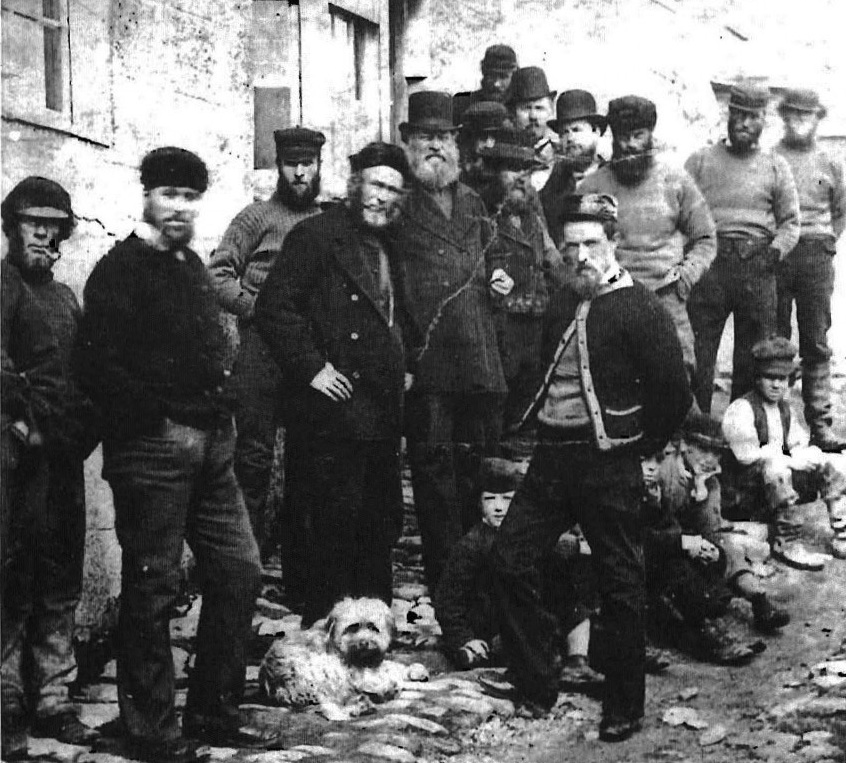 Pill pilots and Westernmen, c1880