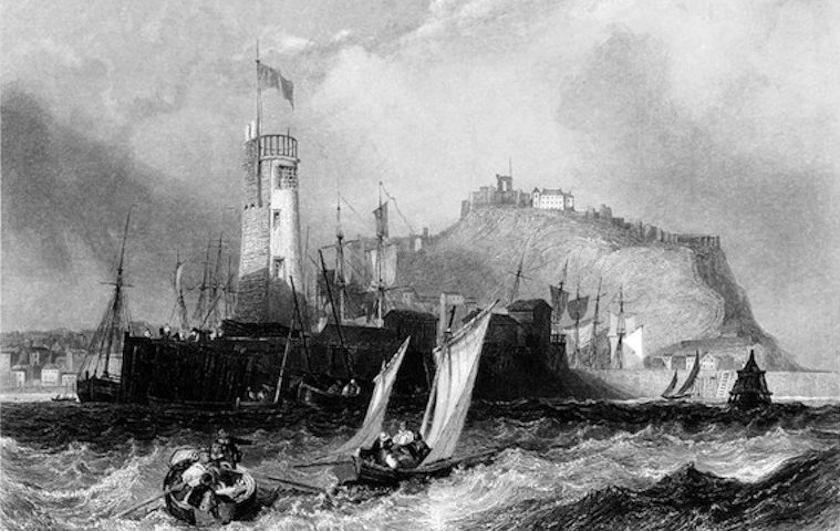 Scarborough 'Ports, Harbours, Watering places of Great Britain', William Finden