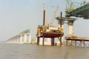 Second Severn Crossing under construction Photo: Dee Holladay
