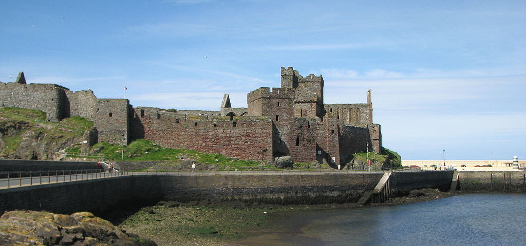 Peel Castle Photo: Wikimedia Commons